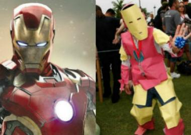 Iron Man, Día del Cosplay, cosplay, expectativa, realidad, terribles, divertidos, fracasaron en el intento,
