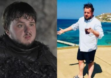 Samwell Tarly, Sam, Game of Thrones, juego de tronos, hbo, serie, john bradley west, pérdida de peso, cambio de look, actor, sobrepeso, problema,