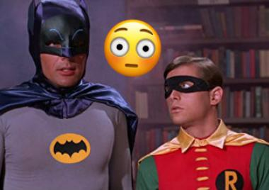 actores batman adam west genitales robin