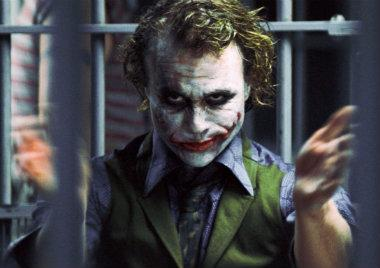 Fotos del detrás de cámaras del Joker de Heath Ledger